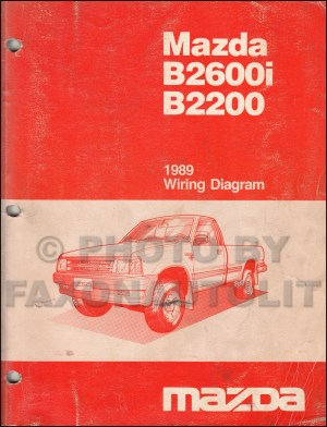 [WRG2891] 1989 Mazda B2200 Electrical Wiring Diagram