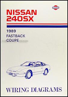 1989 Nissan 240SX Wiring Diagram Manual Original