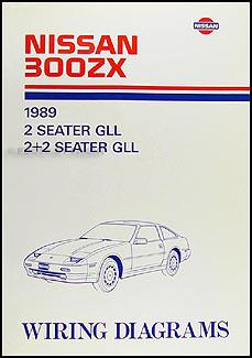 1989 Nissan 300ZX Wiring Diagram Manual Original
