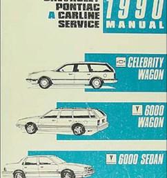 1990 celebrity wagon amp 6000 shop manual original [ 1020 x 1311 Pixel ]