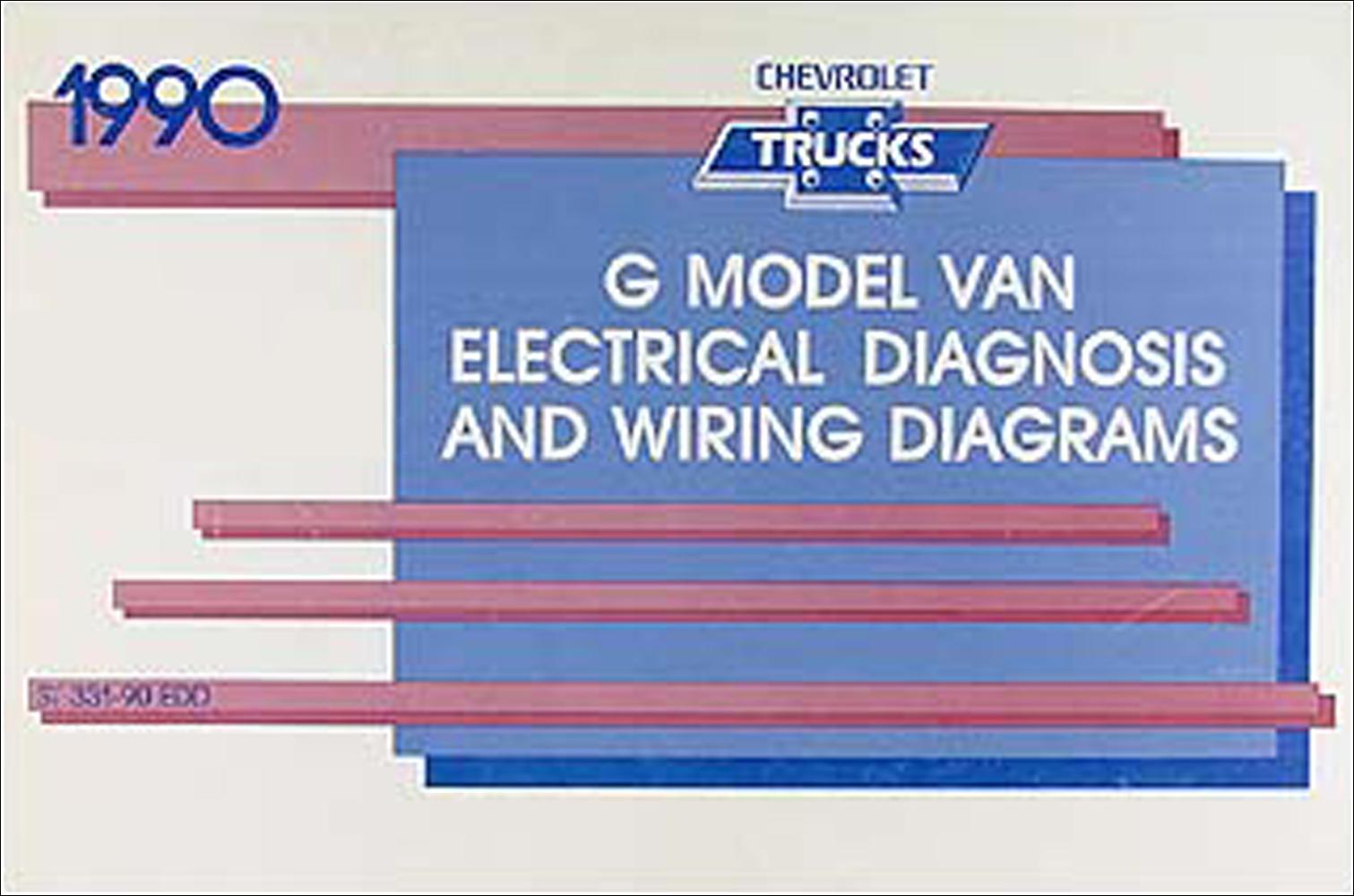 hight resolution of 1990 chevy g van wiring diagram manual original
