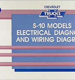1990 chevy s 10 pickup blazer wiring diagram manual original [ 1559 x 1000 Pixel ]