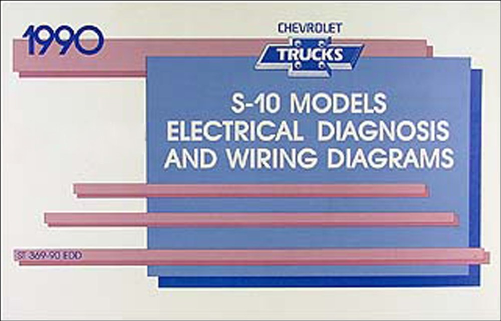 medium resolution of 1990 chevy s 10 pickup blazer wiring diagram manual original