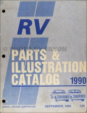 1990 Chevy Suburban, Blazer, RV Pickup Wiring Diagram