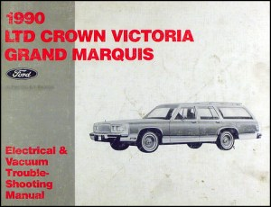 1990 Grand Marquis Crown Victoria Electrical