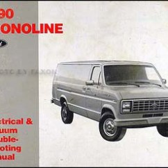 1988 Ford E350 Wiring Diagram Skeletal Foot 1991 Club Wagon Schema 1990 Econoline Van And Electrical Troubleshooting Manual E 359 Interior