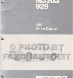 1990 mazda 929 wiring diagram manual original [ 800 x 1041 Pixel ]