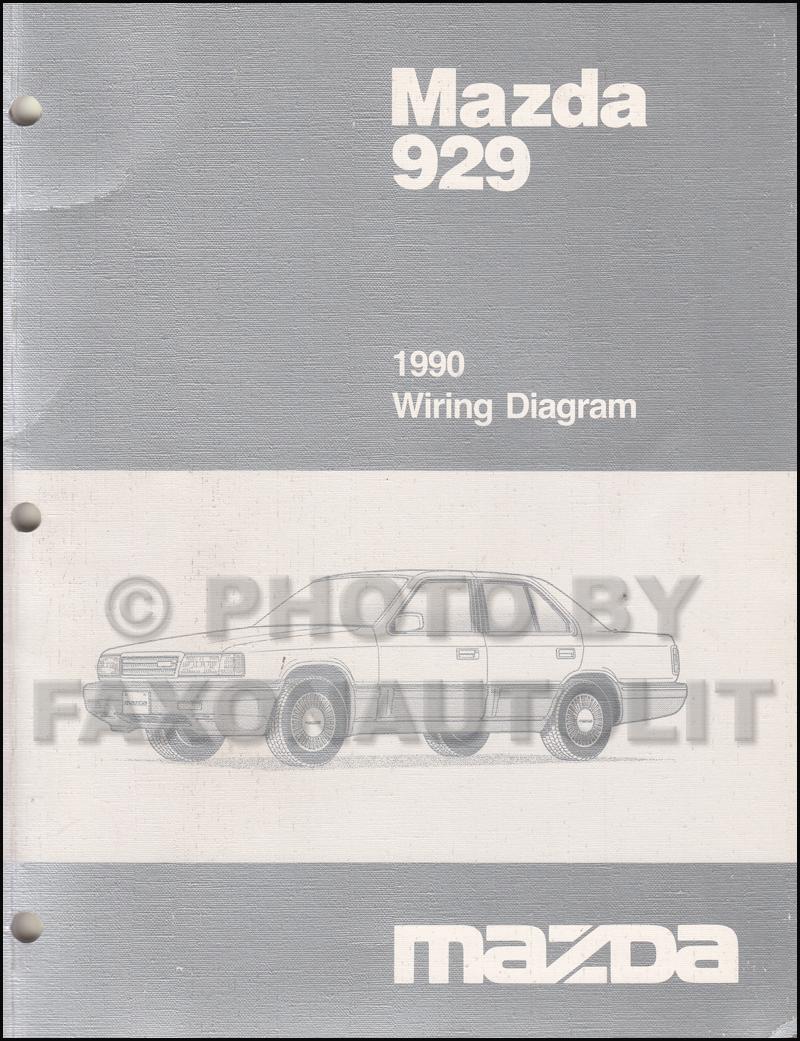 medium resolution of 1990 mazda 929 wiring diagram manual original