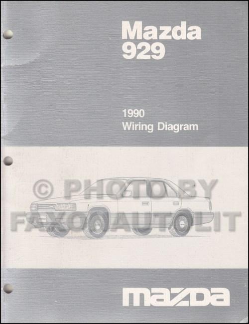 small resolution of 1990 mazda 929 wiring diagram manual original