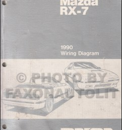 1990 mazda rx 7 wiring diagram manual original rx7 [ 800 x 1040 Pixel ]