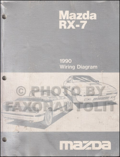 small resolution of 1990 mazda rx 7 wiring diagram manual original rx7
