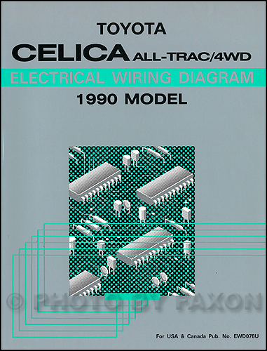 1994 Toyota Camry Wiring Diagram Manual Original