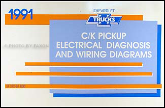 1991 chevy truck wiring diagram obd2 to obd1 jumper harness c k pickup manual original