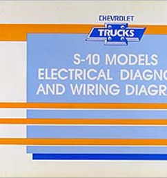 1991 chevy s 10 pickup blazer wiring diagram manual original rh faxonautoliterature com [ 1549 x 1000 Pixel ]