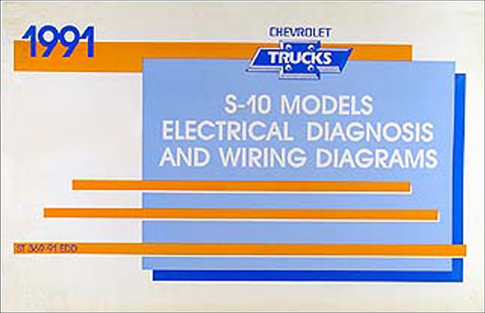 medium resolution of 1991 chevy s 10 pickup blazer wiring diagram manual original rh faxonautoliterature com