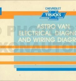 1991 chevy astro van wiring diagram manual original [ 1550 x 1000 Pixel ]