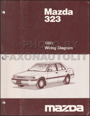 1991 Mazda 323 and Protege Repair Shop Manual Original