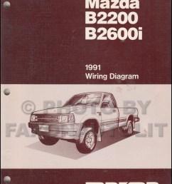 1991 mazda b2600i b2200 pickup truck wiring diagram manual originalmazda pickup diagram 18 [ 800 x 1038 Pixel ]