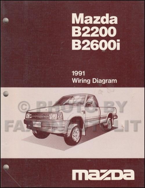 small resolution of 1991 mazda b2600i b2200 pickup truck wiring diagram manual originalmazda pickup diagram 18