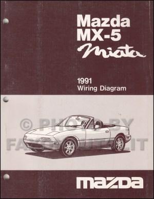 1991 Mazda MX5Miata Repair Shop Manual Original