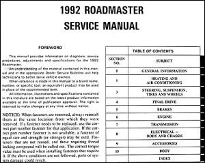 [1992 Buick Coachbuilder Fuse Manual]  Buick Regal 1988