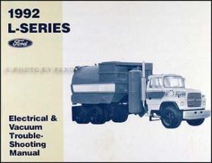1992 Ford LSeries Truck 70009000 Repair Shop Manual Original