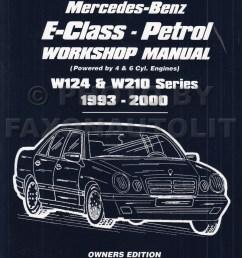 1993 2000 mercedes e class owners workshop manual gas w124 w210 rh faxonautoliterature com mercedes wiring mercedes benz  [ 800 x 1067 Pixel ]