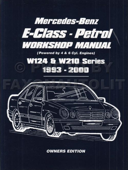 small resolution of 1993 2000 mercedes e class owners workshop manual gas w124 w210 rh faxonautoliterature com mercedes wiring mercedes benz