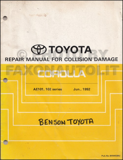 small resolution of toyota damage diagram wiring diagram sample damage diagram toyota wiring diagram host toyota damage diagram