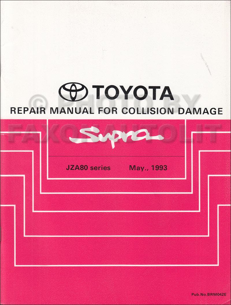 1995 Toyota Supra Wiring Diagram