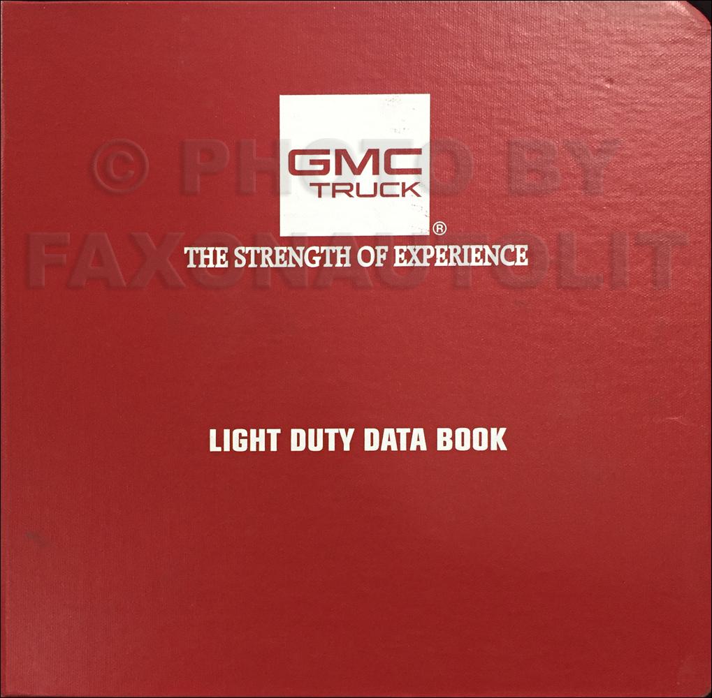 1991 Gmc G Van Vandura Wiring Diagram Manual Original