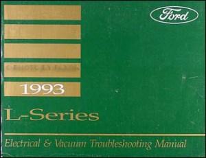 1993 Ford LSeries Wiring Diagram L8000 L9000 LT8000 LT9000 LN7000 LN8000 LN9000 LNT8000 LNT9000