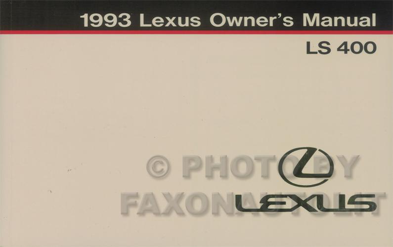 1992 Lexus Ls400 Parts 1992 Circuit Diagrams