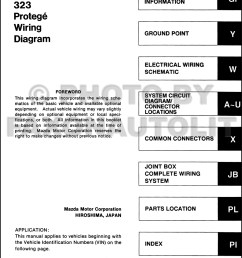 1993 mazda 323 and protege wiring diagram manual original 2001 mazda protege rear knuckle 2002 mazda protege pcm wiring harness [ 1000 x 1330 Pixel ]