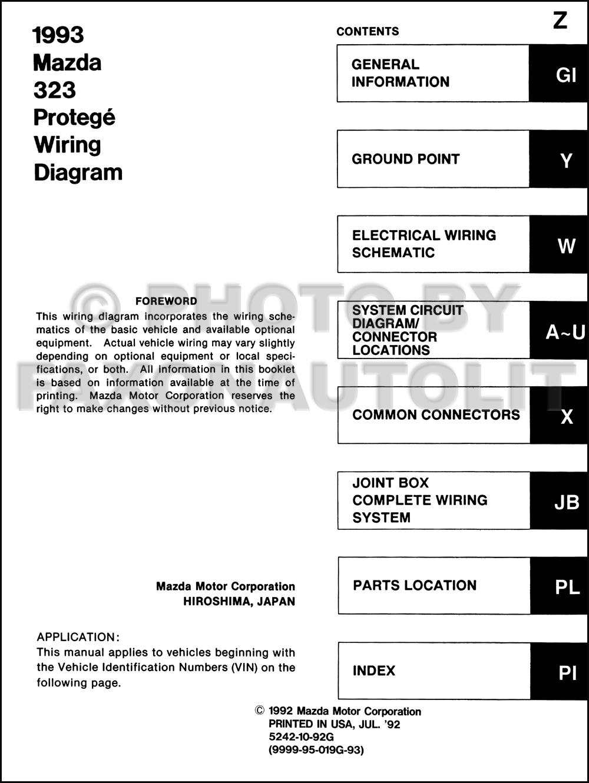 medium resolution of 1993 mazda 323 and protege wiring diagram manual original 2001 mazda protege rear knuckle 2002 mazda protege pcm wiring harness