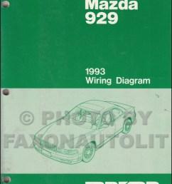1993 mazda 929 wiring diagram manual original [ 1000 x 1310 Pixel ]