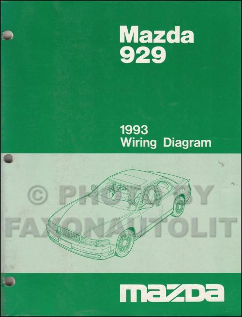 small resolution of 1993 mazda 929 wiring diagram manual original