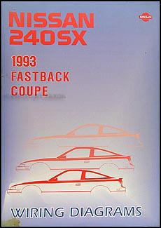 1993 Nissan 240SX Wiring Diagram Manual Original