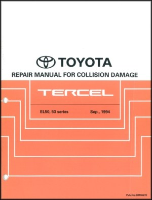 1996 Toyota Tercel Wiring Diagram Manual Original