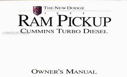 1995 Dodge Ram Cummins Turbo Diesel Pickup Truck Original