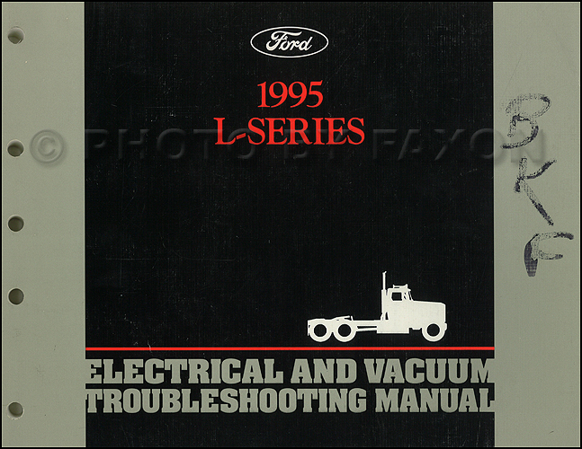 1990 Ford Lseries Wiring Diagram L8000 L9000 Lt8000 Lt9000 Ln7000