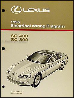 1995 Lexus SC 300 400 Repair Shop Manual Original 3 Volume Set SC300 SC400