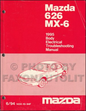 1995 Mazda 626 and MX6 Body Electrical Troubleshooting