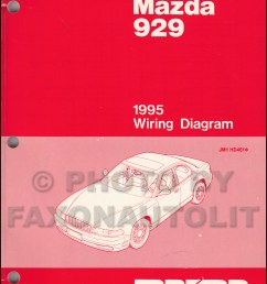 1995 mazda 929 wiring diagram manual original 1997 mazda b4000  [ 800 x 1042 Pixel ]