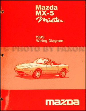1995 Mazda MX5 Miata Electrical Wiring Diagram Original
