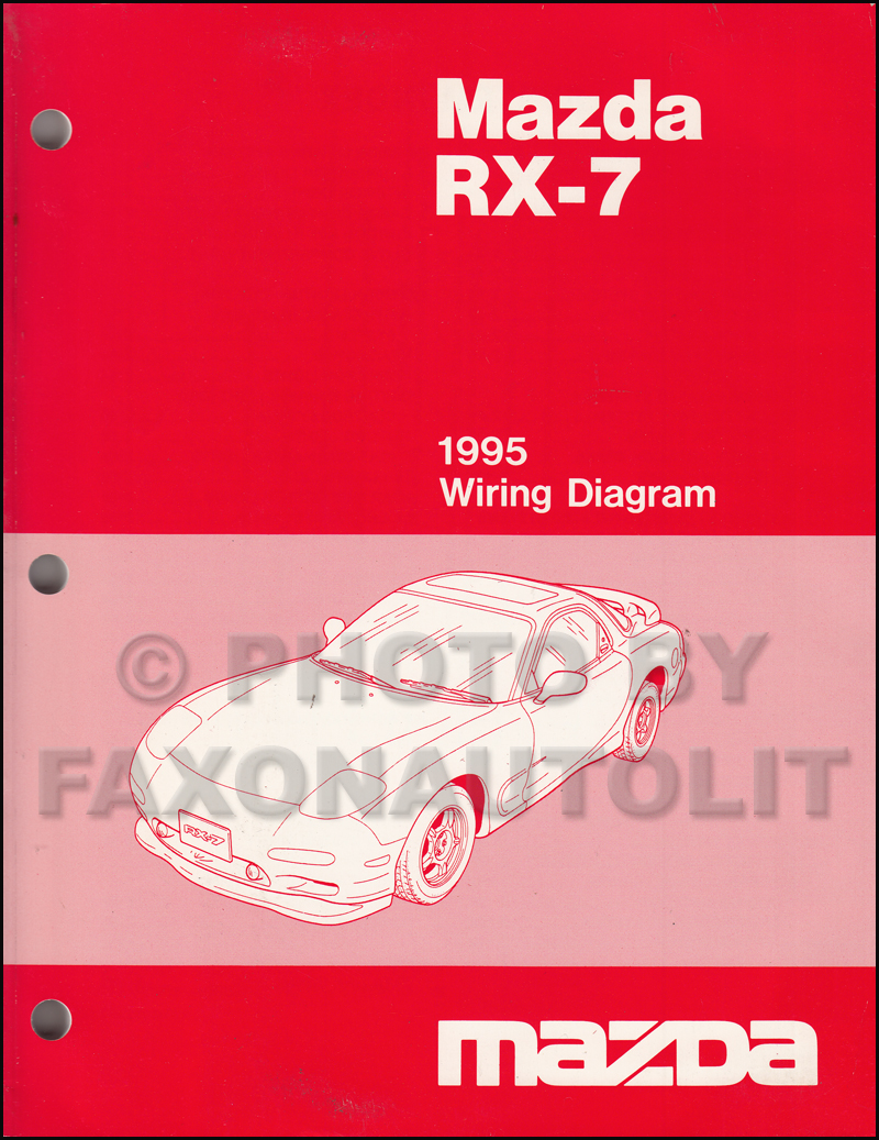 medium resolution of 1995 mazda rx 7 wiring diagram manual original rx7