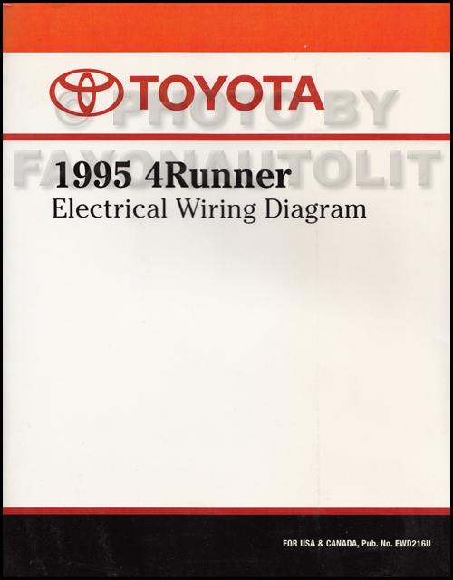 Repair Manual On 1995 Toyota Camry Wiring Diagram Manual Original