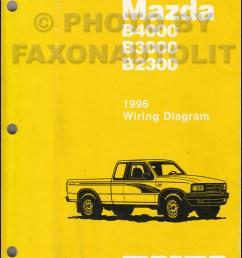 1996 mazda b4000 b3000 b2300 pickup truck wiring diagram manual original mazda b4000 fuse diagram mazda b4000 diagram [ 800 x 1042 Pixel ]