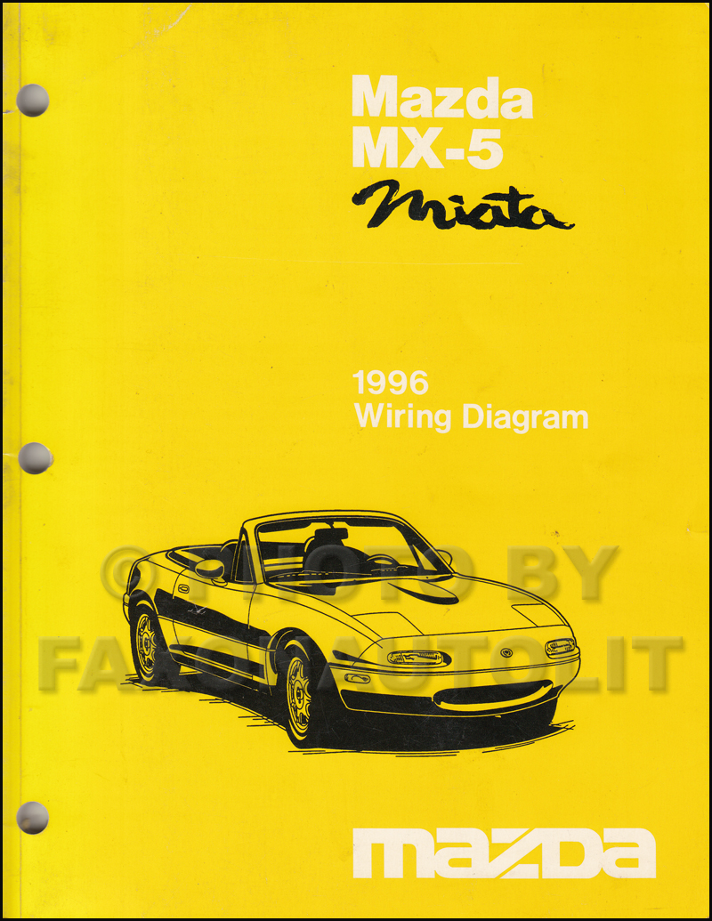 medium resolution of 1996 mazda mx 5 miata wiring diagram manual original rh faxonautoliterature com