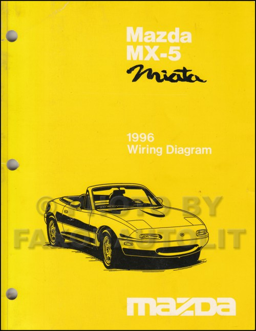 small resolution of 1996 mazda mx 5 miata wiring diagram manual original rh faxonautoliterature com